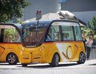 Digitale Mobilität: Autonomes Fahren auf der CeBIT erleben – mit dem SmartShuttle der Schweizer Post