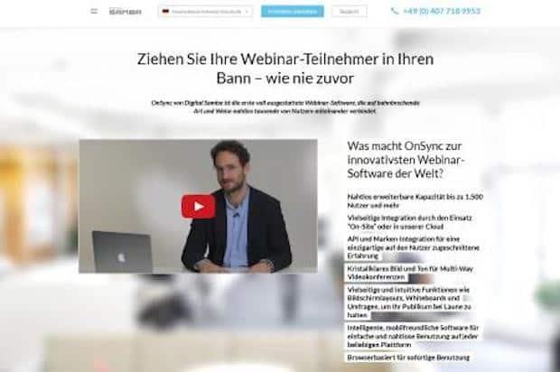Photo of Digital Samba vereinfacht das Pricing für die Webkonferenz-Lösung OnSync