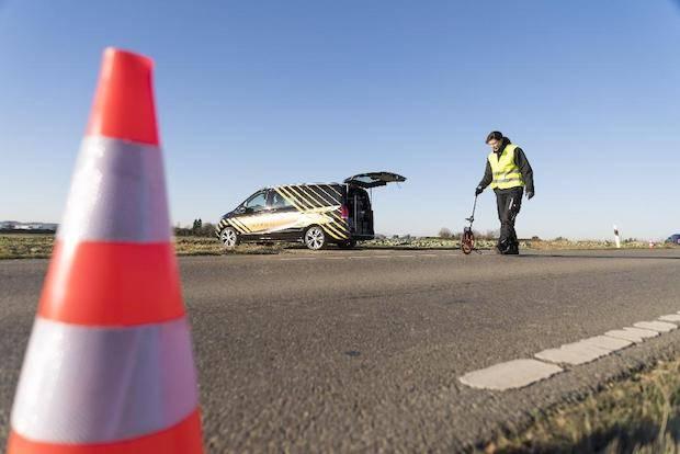 Bild von Eigene Unfallforschung macht Transporter noch sicherer