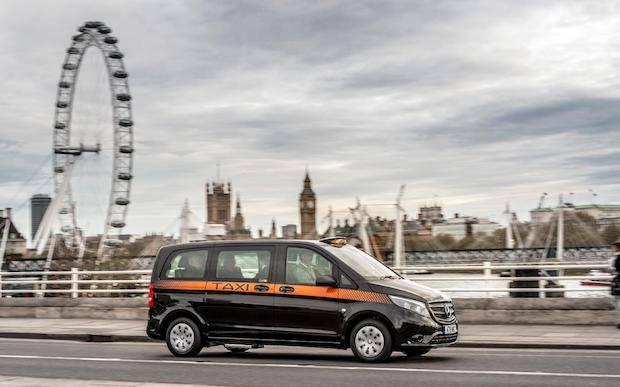 Photo of Neues Black Cab mit Stern für London