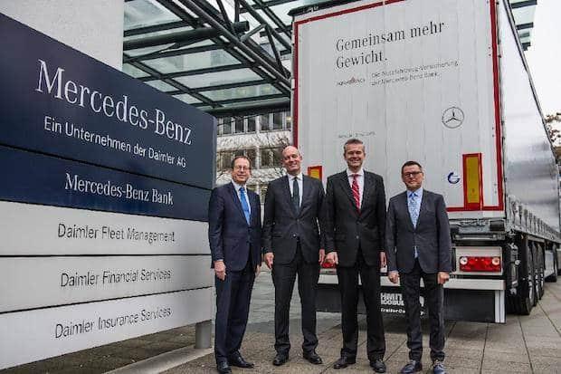 Photo of Starke Partner in der Nutzfahrzeugversicherung: Mercedes-Benz Bank und KRAVAG
