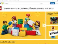 Die LEGO GmbH startet eigene Markenwelt bei eBay