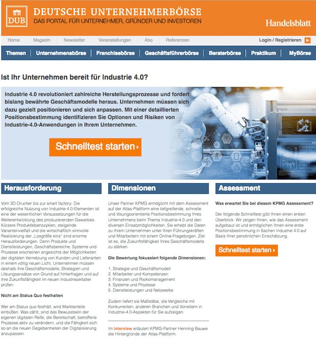 Photo of Sind Sie fit für Industrie 4.0? – Antworten im Kurz-Assessment von DUB und KPMG