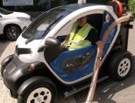 Technologische Wandel ergreift Niederberger Gruppe: E-Mobil reinigt Berlins Straßen