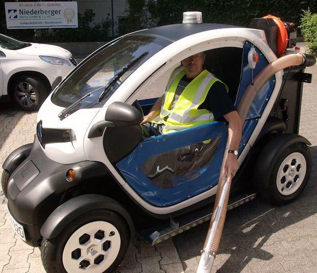Photo of Technologische Wandel ergreift Niederberger Gruppe: E-Mobil reinigt Berlins Straßen