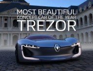 Renault Trezor: schönstes Concept Car 2016
