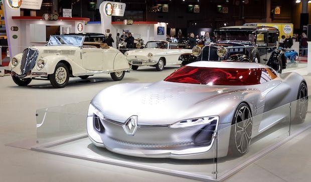 Photo of Retromobile: Renault zeigt Design-Ikonen
