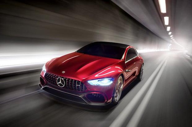 Bild von Mercedes-AMG GT Concept – Driving Performance der Zukunft