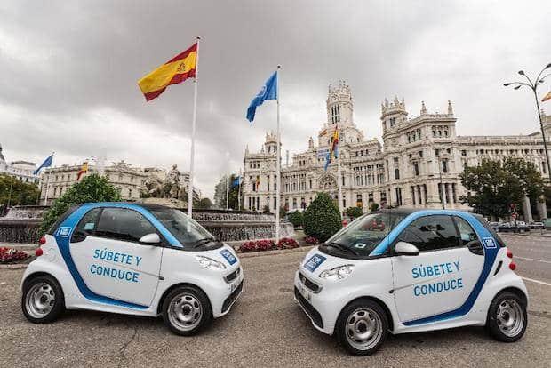 Bild von Spanische Regierung kauft CO2-Einsparungen von car2go
