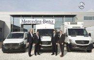 Großauftrag: Übergabe der ersten von insgesamt mehr als 2100 Mercedes-Benz Transporter an Europcar