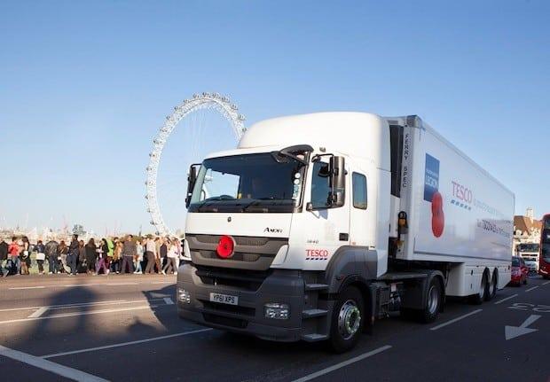 Photo of Tesco UK organsiert Wareneingang mit Lösungen der Transporeon Group