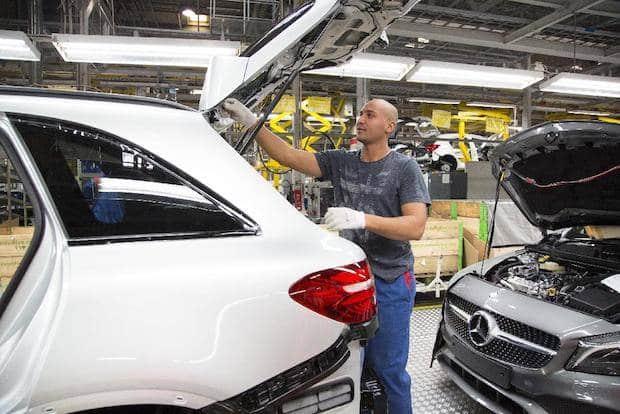 Bild von Mercedes-Benz produziert weiter bei Valmet Automotive
