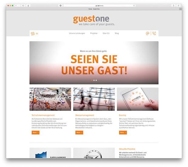 Photo of Guest-One präsentiert neue Webseite