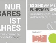 Nur Bares ist Wahres: Studie belegt – Deutsche lieben ihr Bargeld