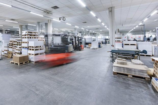 Bild von Besonders attraktiv im Mietkonzept: Die Druckpartner Druck- und Medienhaus GmbH setzt auf LED-Beleuchtung