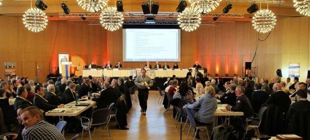 Der LKR Bundesparteitag fand in Siegen (NRW) - Siegerlandhalle statt. Foto: LKR