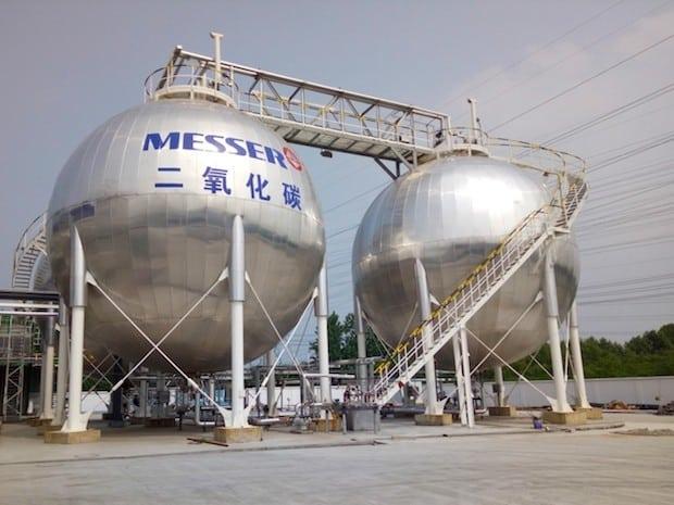 Bild von Messer wird größter Anbieter von CO2 in China