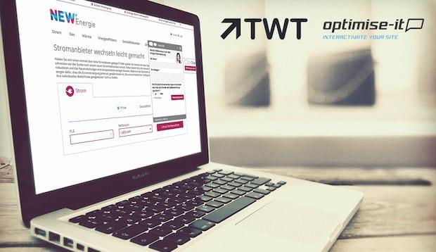 Bild von TWT Kunde NEW profitiert von Live-Chat-Lösung Realperson® der optimise-it