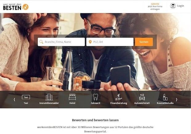 Bild von 11880 bietet Verbrauchern mit neuer Bewertungssuchmaschine einzigartigen Überblick