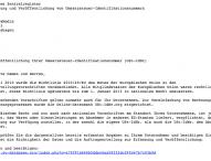 Europäisches Zentralregister – gefährlicher Spam im Umlauf!