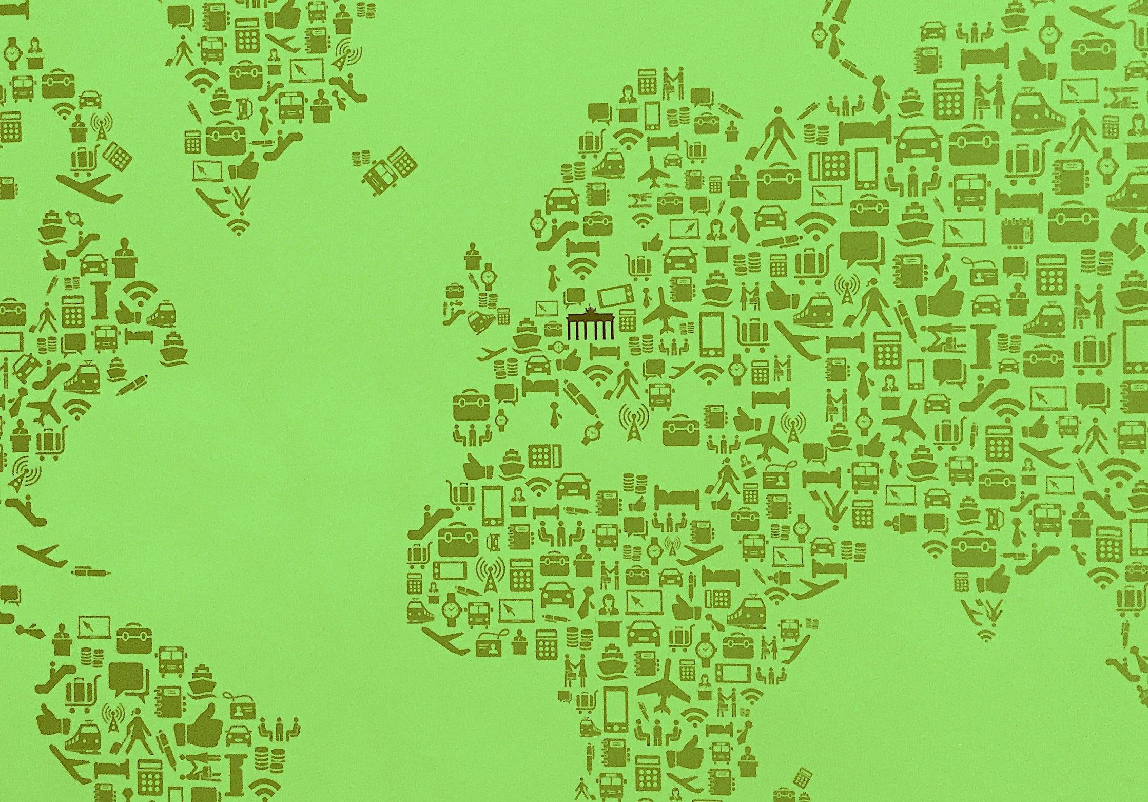Nachhaltiger Tourismus steht im Fokus der diesjährigen ITB in Berlin. Fotomontage: Sven Oliver Rüsche.