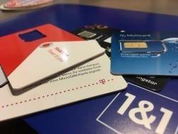 Prepaid Tarife oder lieber eine MultiSIM? SIM-Karten gibt es wie Sand am Meer. Foto: Sven Oliver Rüsche / ARKM.