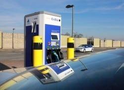 Entlang der wichtigsten Autobahnen: Verhelfen diese Schnellladestationen der Elektromobilität nun zum Durchbruch? Foto: EnBW.
