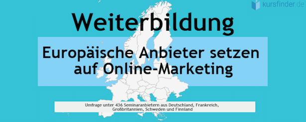 Photo of Europäische Weiterbildungsanbieter setzen auf Online-Marketing