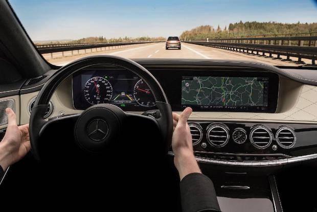 Bild von Die neue S-Klasse: Intelligent Drive Next Level