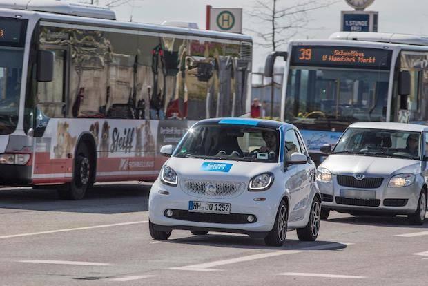 Bild von 150.000 Hamburger setzen auf Carsharing mit car2go
