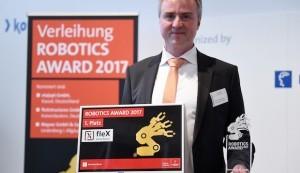 fleXstructures GmbH gewinnt ROBOTICS AWARD 2017