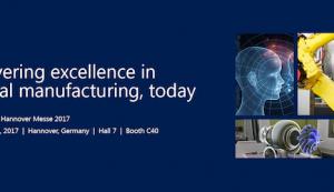Digitales Manufacturing zum Anfassen: Microsoft zeigt auf Hannover Messe, wie Unternehmen ihr Geschäft erfolgreich digital transformieren