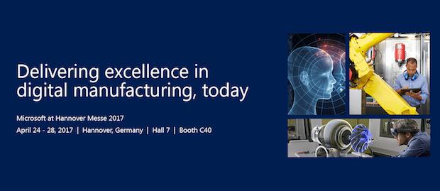 Photo of Digitales Manufacturing zum Anfassen: Microsoft zeigt auf Hannover Messe, wie Unternehmen ihr Geschäft erfolgreich digital transformieren