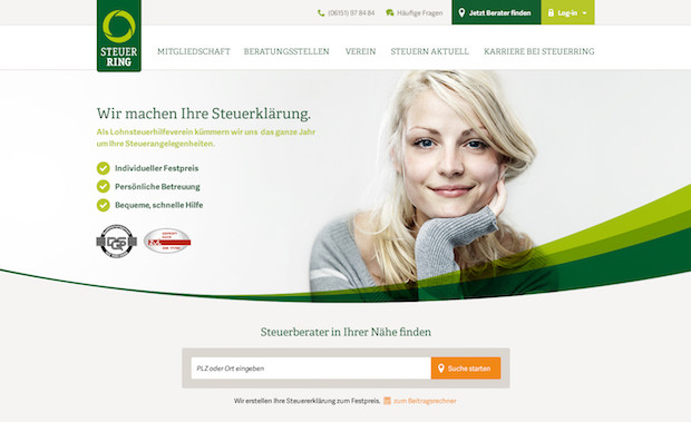 Photo of Sympathisch und nah: Neue Corporate Website für Steuerring