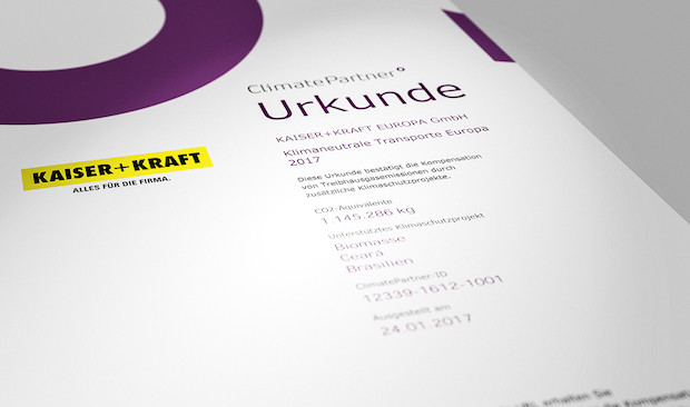 Photo of KAISER+KRAFT liefert europaweit klimaneutral