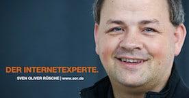 Internetexperte Sven Oliver Rüsche verantwortet die Mittelstand Nachrichten.