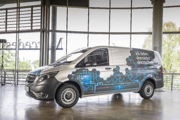 Photo of Mercedes-Benz Vans und Hermes unterzeichnen strategische Partnerschaft