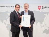 Niedersächsischer Außenwirtschaftspreis 2017: WELTEC BIOPOWER unter den Top Five