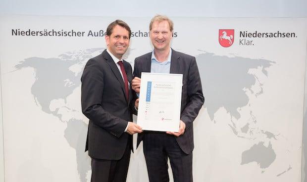 Photo of Niedersächsischer Außenwirtschaftspreis 2017: WELTEC BIOPOWER unter den Top Five