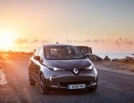 Renault ZOE im Shuttledienst beim Deutschen Städtetag