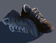 Schuhe und Kleidung für Jedermann