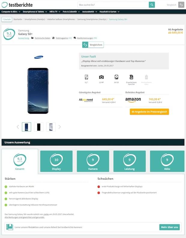 Bild von Durch Verbraucherforschung zum richtigen Kauf: Neues Auswertungsverfahren von testberichte ab sofort live