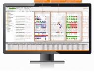 Planungssoftware GANTTPLAN von DUALIS kommuniziert mit TaxMetall