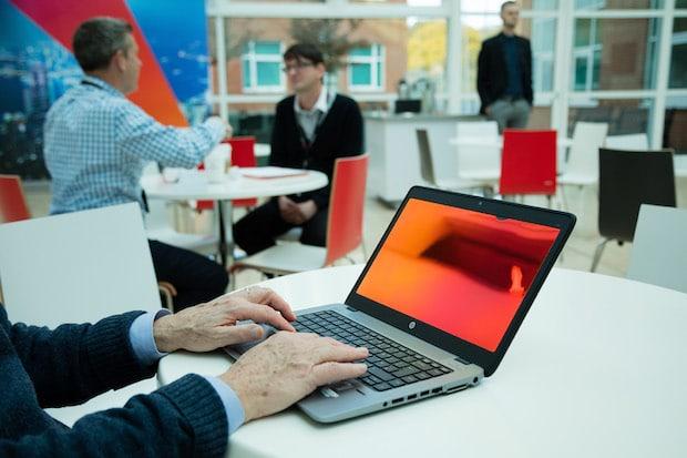 Bild von 3M Blickschutzfilter Gold für Desktop-Rechner und Notebooks