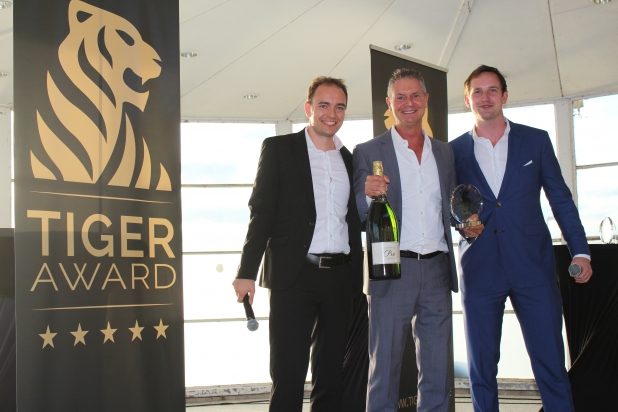 Tiger Award Gewinner für den besten Podcast des Jahres: Dirk Kreuter.
