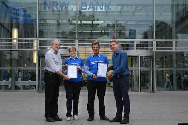 Photo of ADFC zeichnet NRW.BANK als fahrradfreundlichen Arbeitgeber aus