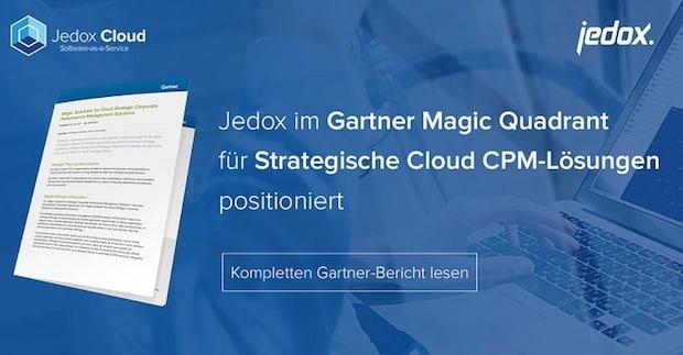 Photo of Jedox im Gartner Magic Quadrant für Strategische Cloud CPM-Lösungen 2017 positioniert