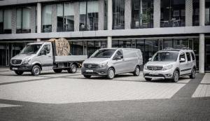 Fünf Jahre kontinuierliches Wachstum: Mercedes-Benz Vans fährt neue Absatzrekorde ein