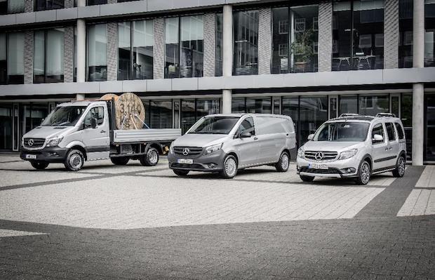 Bild von Fünf Jahre kontinuierliches Wachstum: Mercedes-Benz Vans fährt neue Absatzrekorde ein