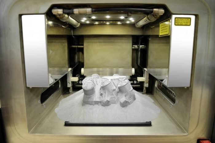 Bild von Neu aus dem 3D-Drucker: erstes Lkw-Ersatzteil aus Metall